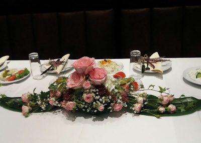 Hochzeitsgedeck